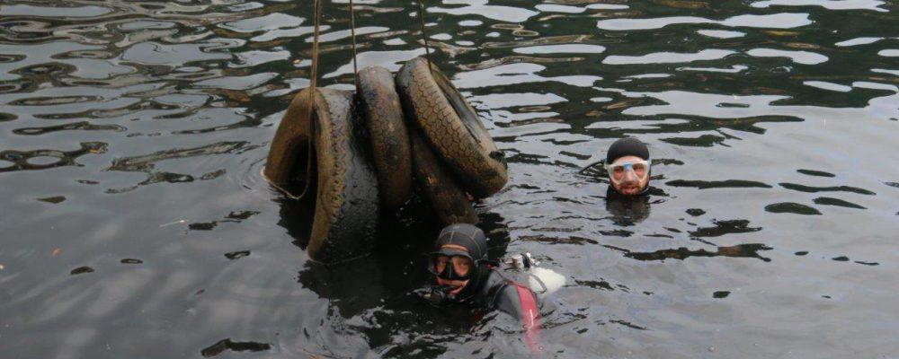 """""""Let's Clean Up Europe"""": ripulito il porto di Porto Ercole (GR)"""