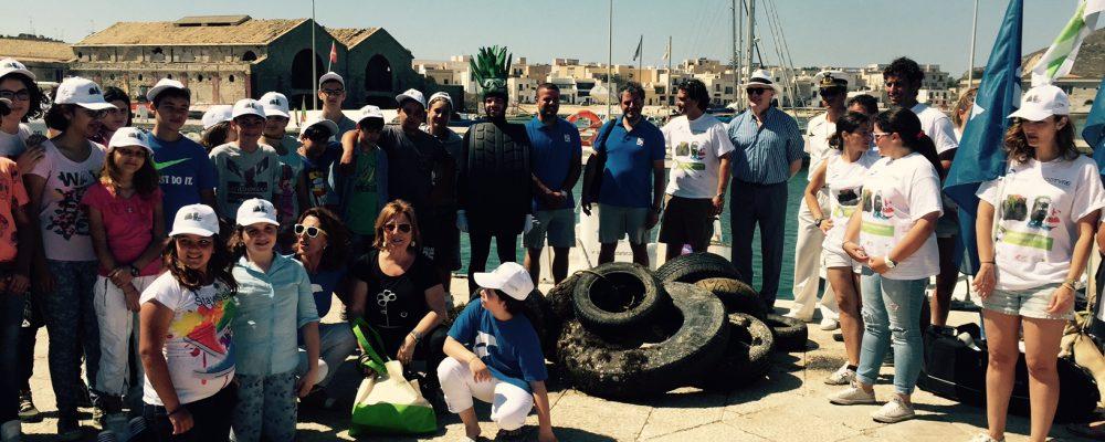 """La seconda edizione """"PFU Zero nella Isole Minori"""" fa tappa in Sicilia: raccolti 1400 PFU"""""""